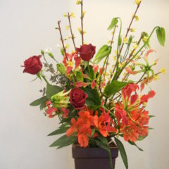 華やかな雰囲気 花束