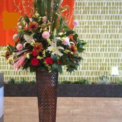 式典用スタンド花