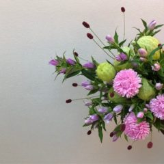8月の花教室