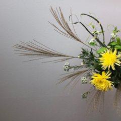 花教室アレンジメント