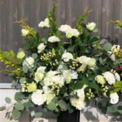 スタンド花 ホワイト